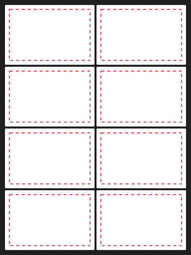 APLI printable label templates